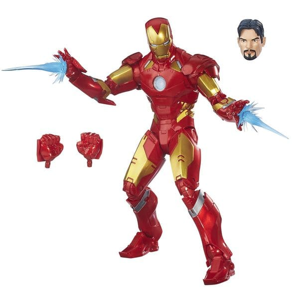 Marvel Legends Series - Homem de Ferro 1:6