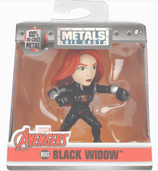 Metals Die Cast Black Widow 2,5