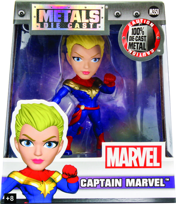 Metals Die Cast Capitã Marvel