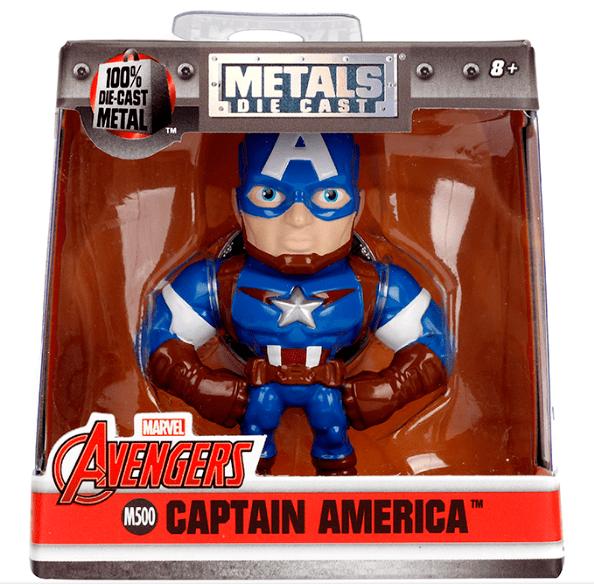 Metals Die Cast Capitão América 2,5