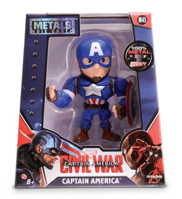 Metals Die Cast Capitão América Guerra Civil