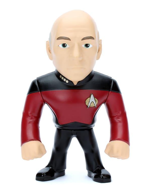Metals Die Cast Capitão Picard Star Trek Nova Geração