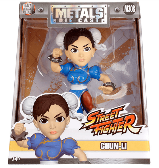 Metals Die Cast - Chun-Li - Street Fighter Capcom