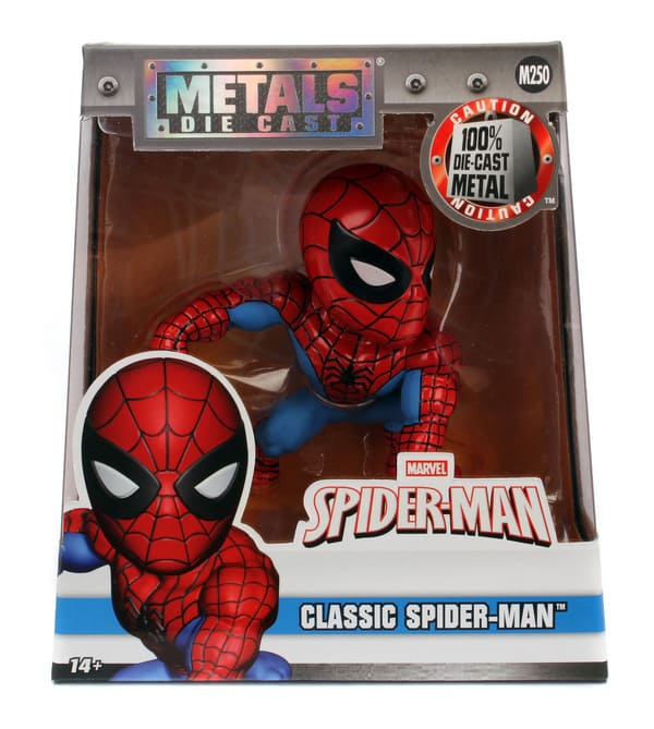 Metals Die Cast Classic Spider-man Marvel