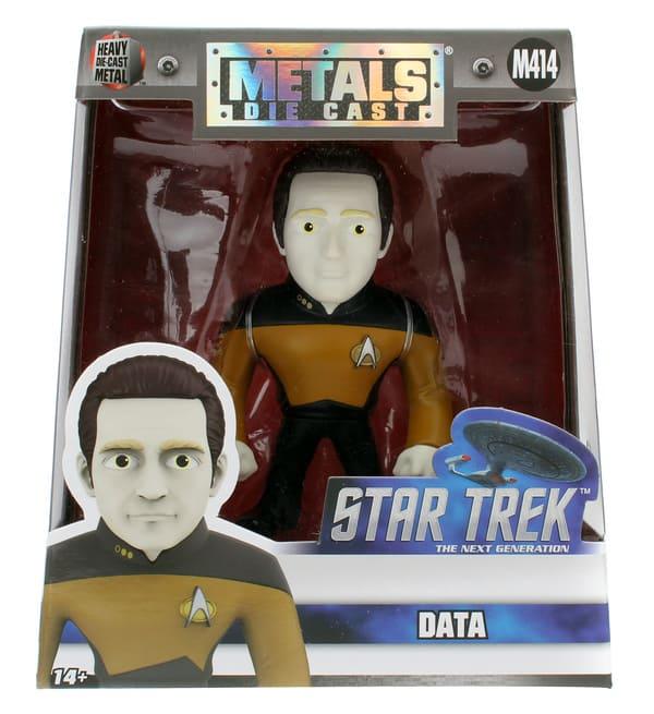 Metals Die Cast Data Star Trek: Nova Geração