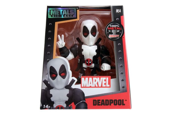 Metals Die Cast Deadpool Branco Marvel