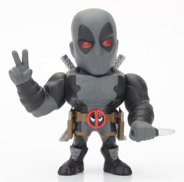 Metals Die Cast Deadpool Cinza X-Force