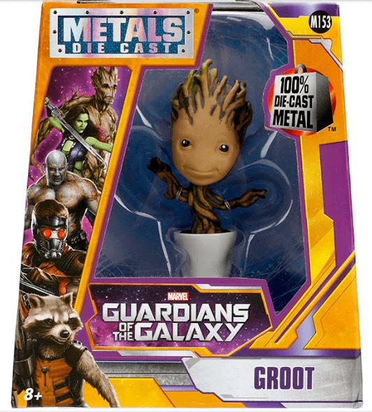 Metals Die Cast Groot Baby - Guardiões da Galáxia