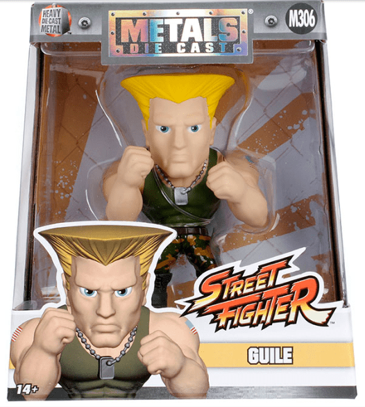 Metals Die Cast - Guile - Street Fighter Capcom