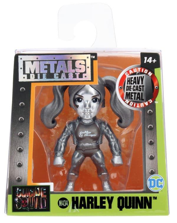 Metals Die Cast Harley Quinn 2,5