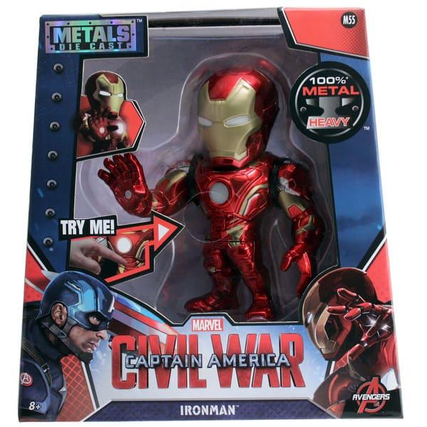 Metals Die Cast Homem de Ferro 6