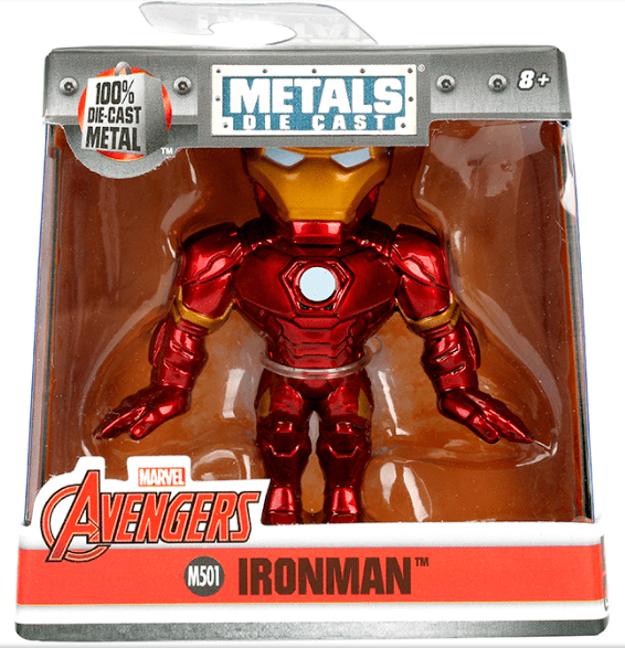 Metals Die Cast Iron Man 2,5