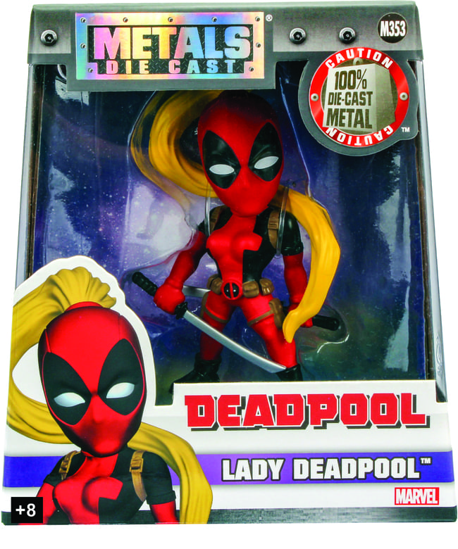 Metals Die Cast Lady Deadpool Marvel