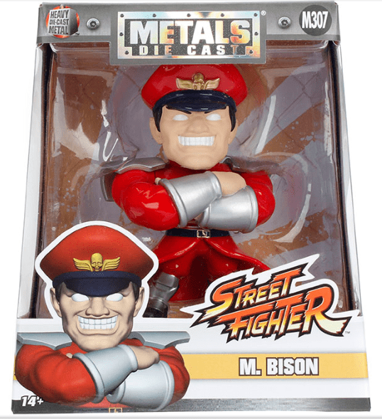 Metals Die Cast - M, Bison - Street Fighter Capcom