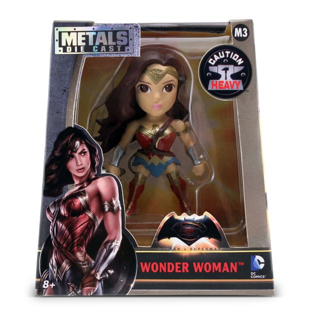 Metals Die Cast Mulher Maravilha Batman vs Superman