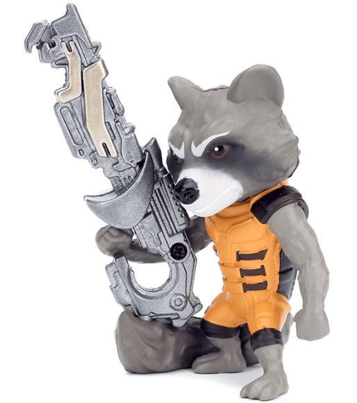 Metals Die Cast Rocket Raccoon - Guardiões da Galáxia