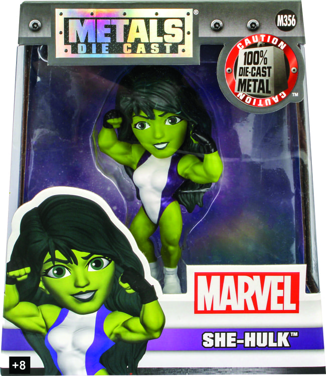 Metals Die Cast She-Hulk Marvel