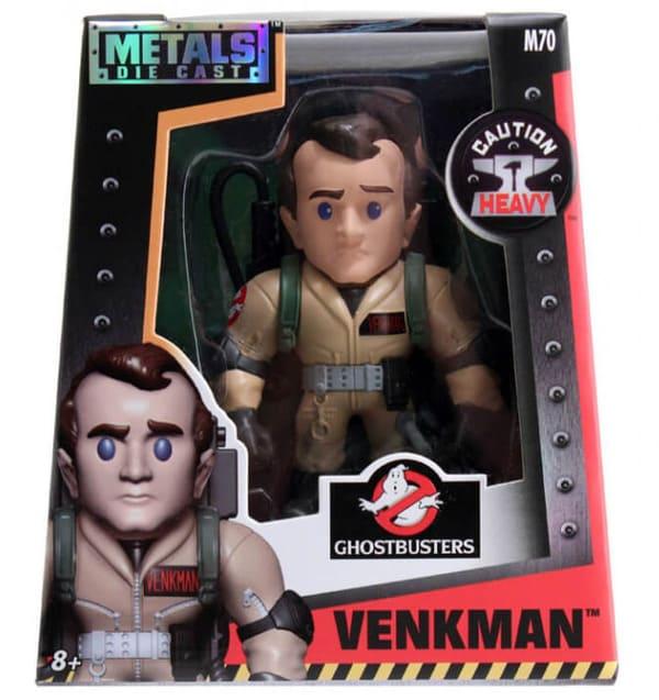 Metals Die Cast Venkman Os Caça-Fantasmas