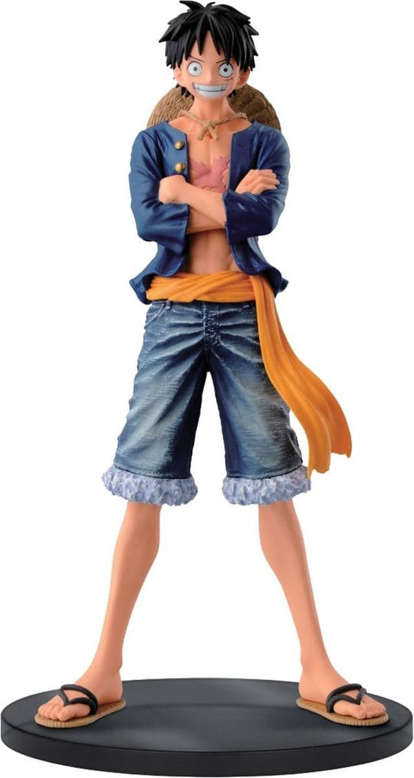 One Piece - Monkey D, Luffy - Jeans Freak Vol,1 - Banpresto