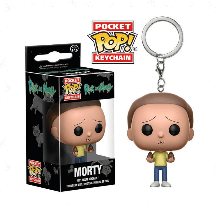 Pocket POP! Chaveiro - Morty - Rick & Morty