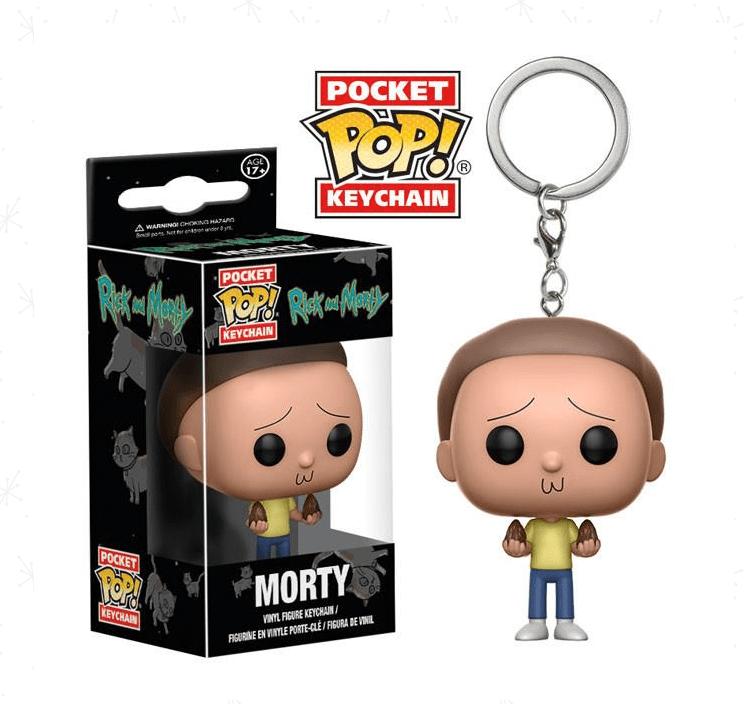 Pocket POP! Chaveiro - Morty - Rick & Morty