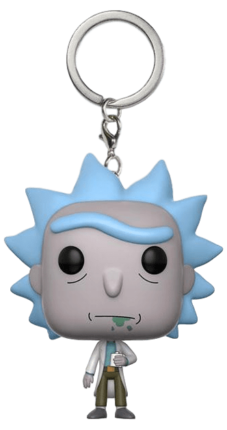 Pocket POP! Chaveiro - Rick - Rick & Morty