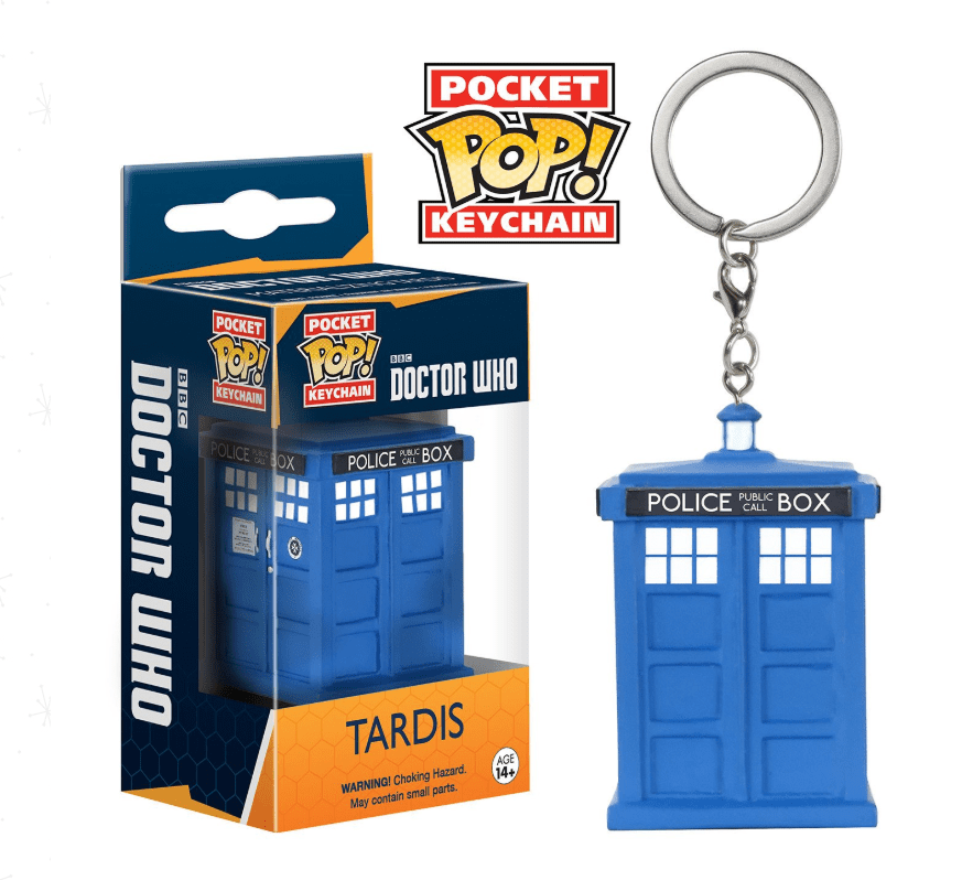 Pocket POP! Chaveiro - TARDIS - Dr. Who
