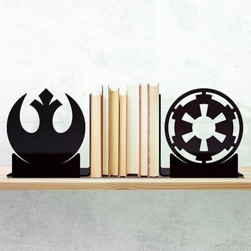 Porta Livros Star Wars - Aliança vs Império