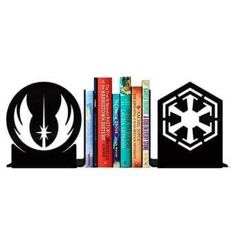 Porta Livros Star Wars - Jedi vs Sith