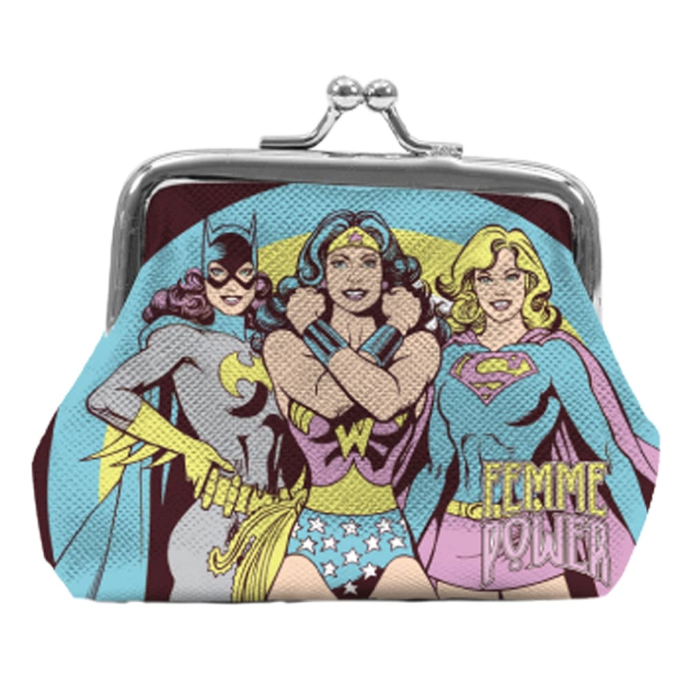 Porta Moedas DC - Femme Power
