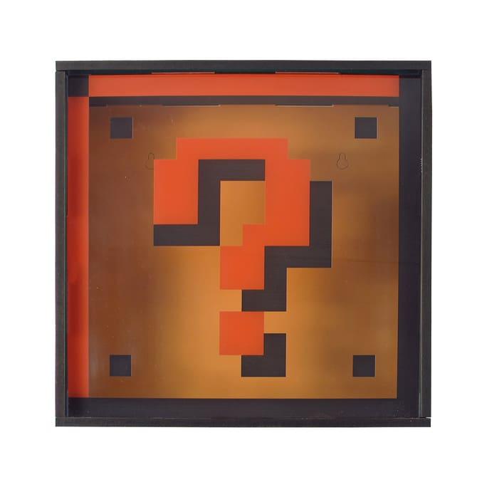 Quadro Interativo Super Mario Bros - Bloco