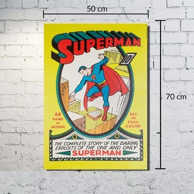 Quadro Tela DC - Superman