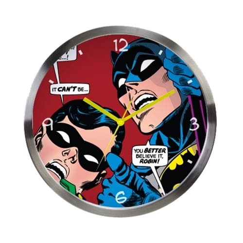 Relógio de Parede DC - Batman e Robin