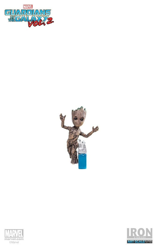 Rocket &  Baby Groot 1:10 - GoG Vol2 - Iron Studios