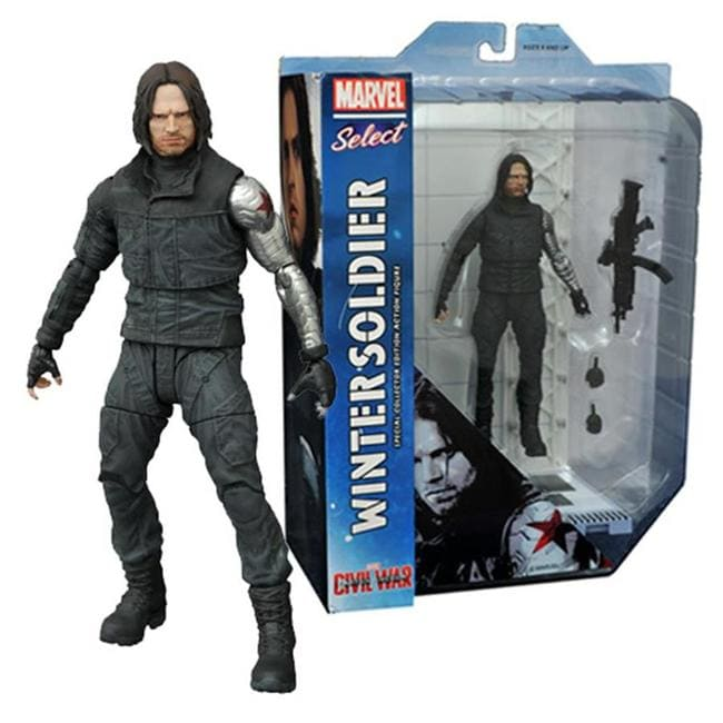 Soldado Invernal: Civil War - Marvel Select - Diamond