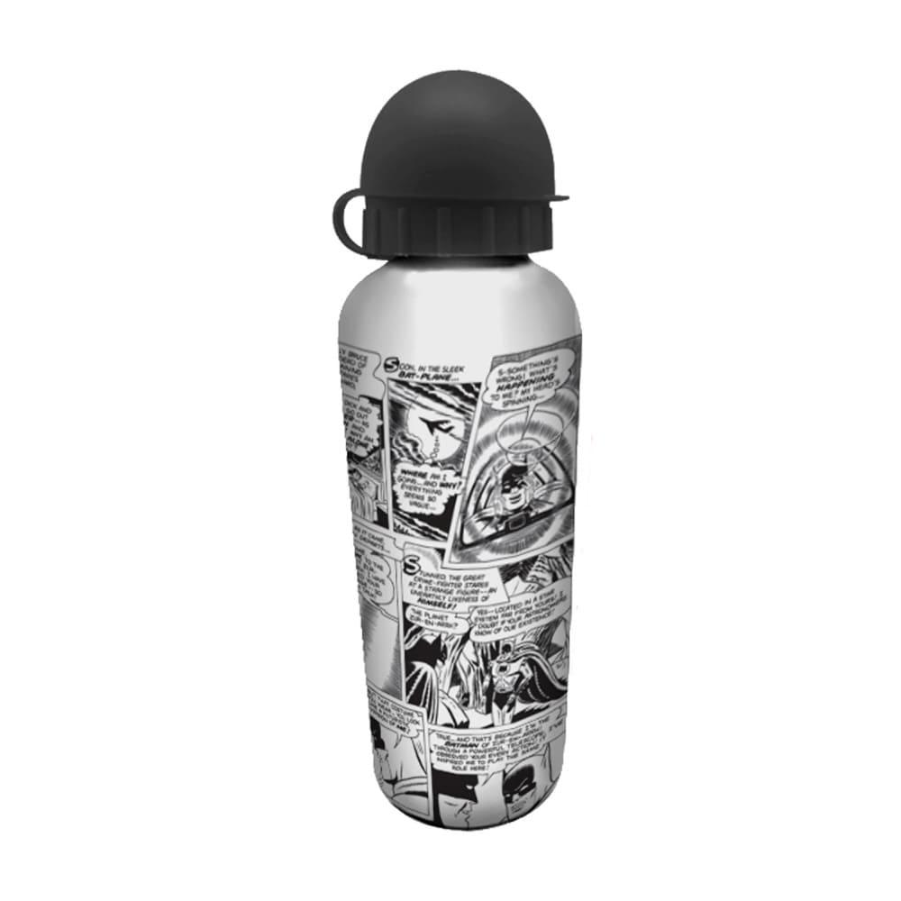 Squeeze de Alumínio DC - Comics Quadrinhos Preto e Branco