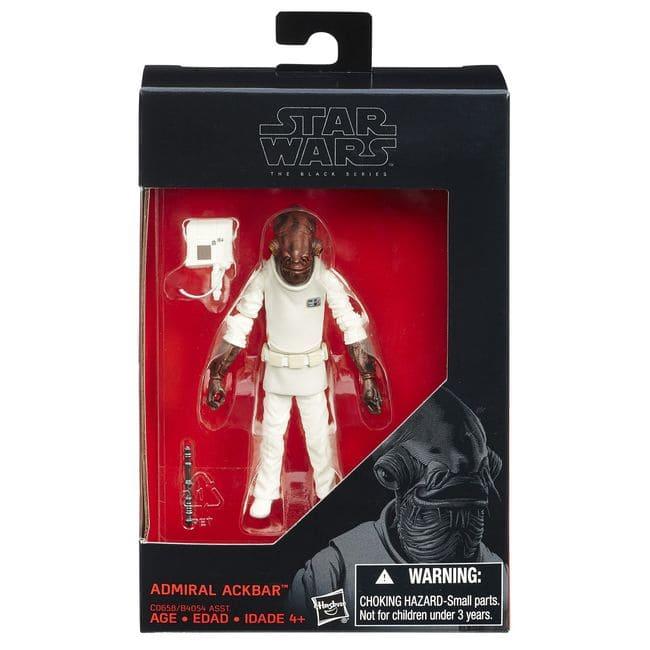 Star Wars Almirante Ackbar - The Black Series