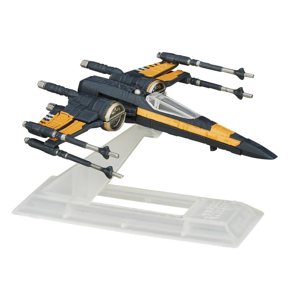 Star Wars Poe Dameron X-Wing Fighter - The Black Series