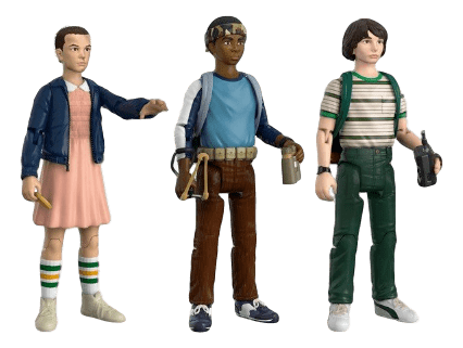 Stranger Things - Eleven, Lucas e Mike - Pack 1 - Funko
