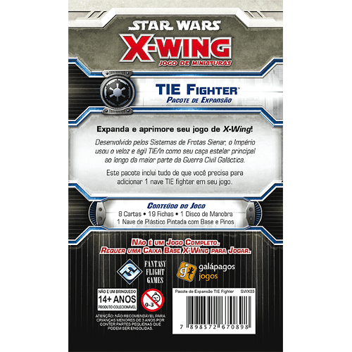 Tie Fighter Exp Star Wars X-Wing
