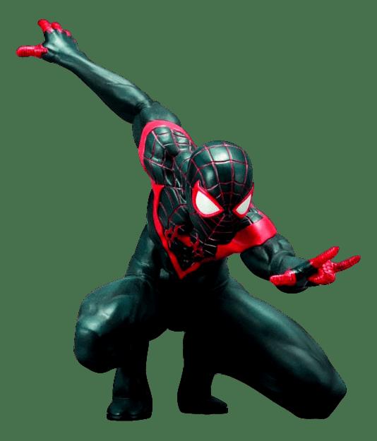 Ultimate Spider-Man Miles Morales - Artfx+ Statue - Kotobukiya