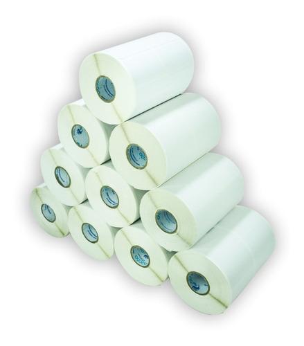 10.000 Etiqueta 40x25 2 Colunas Mm Full