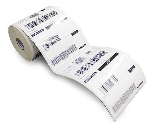 2 Rolos Etiqueta 10x15 Cm ( 100x150) Serrilha Mercado Envios