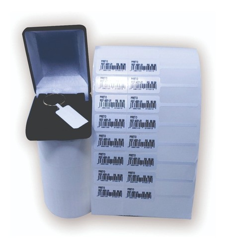5 Rolos Etiqueta 95x15 Bopp Adesiva Otica E Joia 95x15
