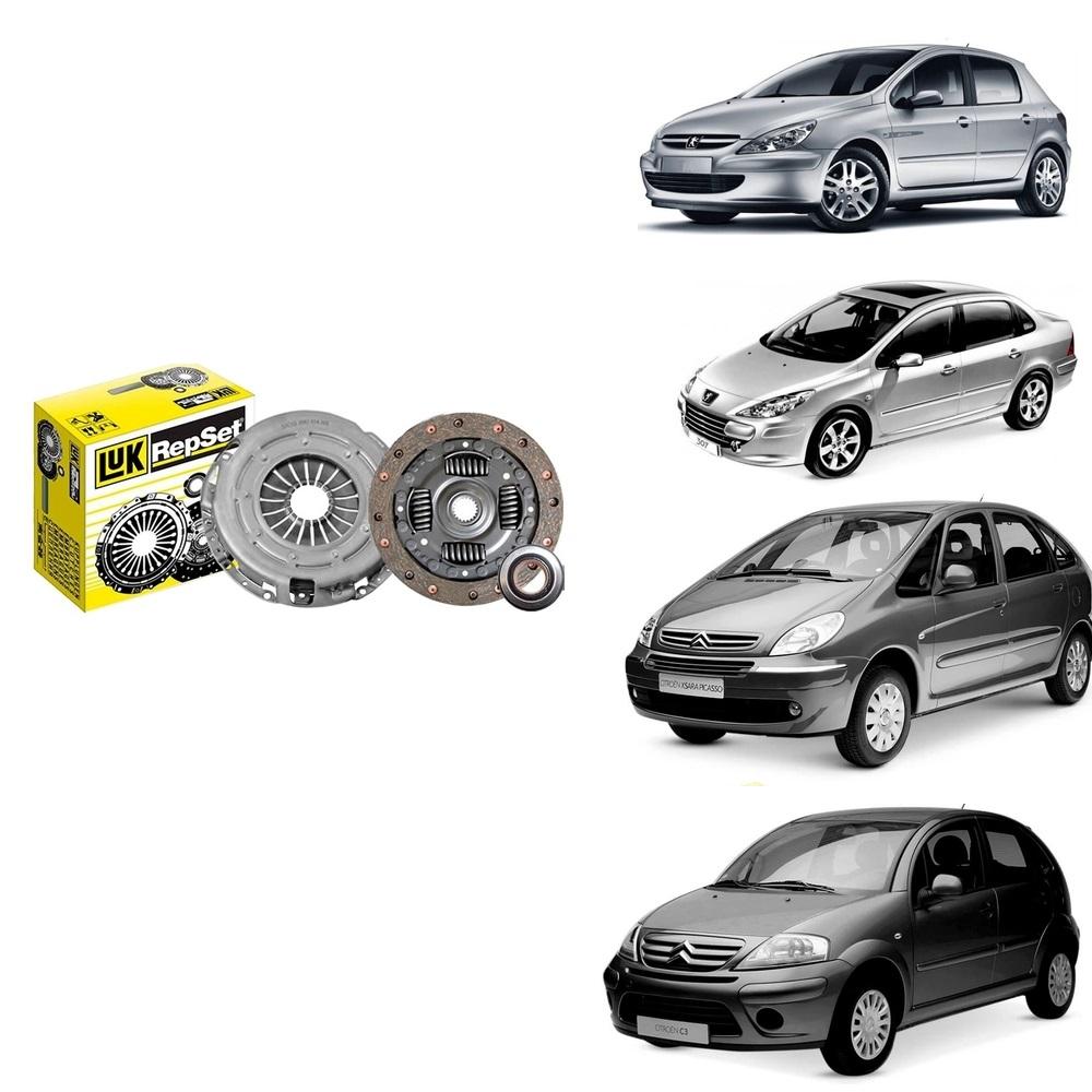 Kit Embreagem Peugeot 307 1.6 16v 2001/.... Peugeot 206 1.6 16v 2012/.. Peugeot 207 1.4 2008/... C3 1.6 16v 2006/... Xsara picasso 1.6 2001/...