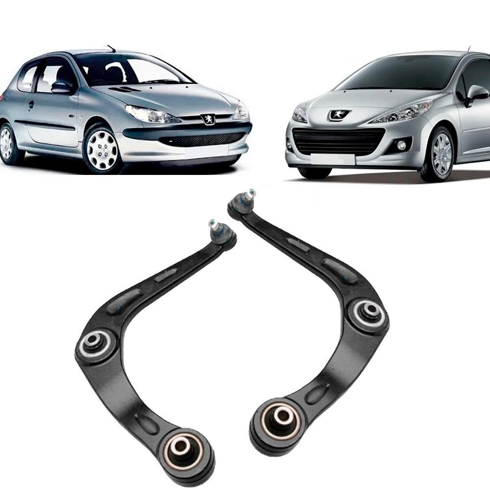 Par Bandeja Dianteira Peugeot 206 207 1.0 1.4 1.6 todos Lado Direito lado esquerdo.