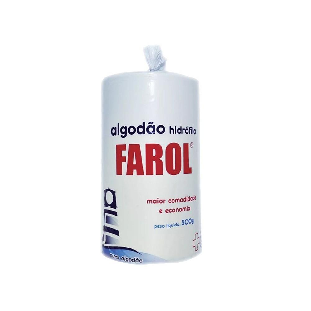 Algodão Hidrófilo Farol 500g
