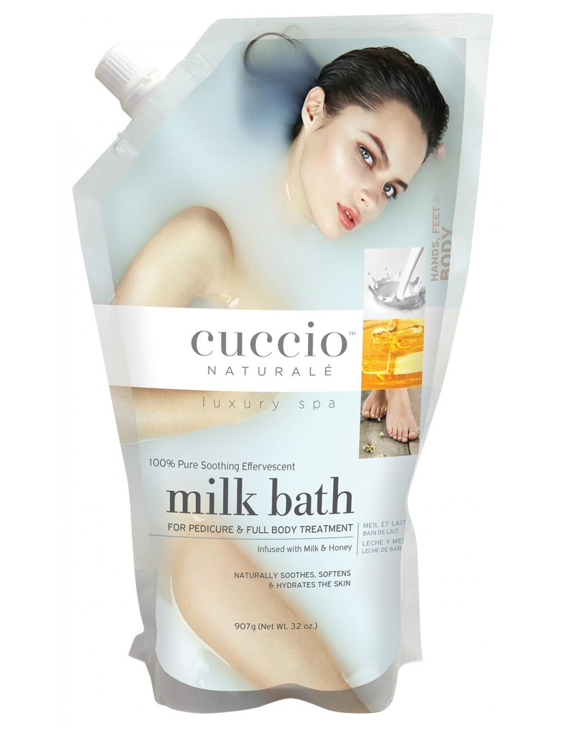 Banho de Imersão Cuccio - Milk Bath - 907g - CNSP4701