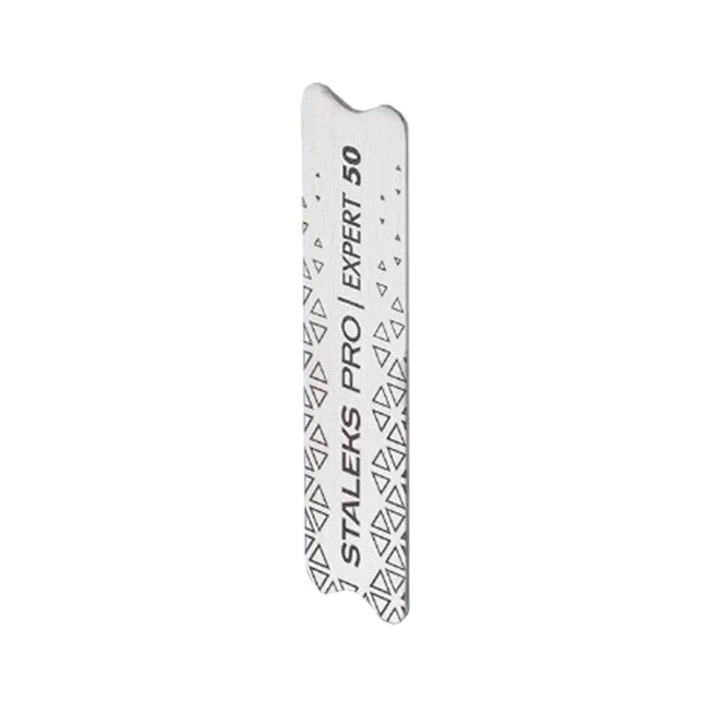 Base para Lixa Refil Staleks Pro- Inox -Série Expert 50 - Retangular Pequena - MBE-50