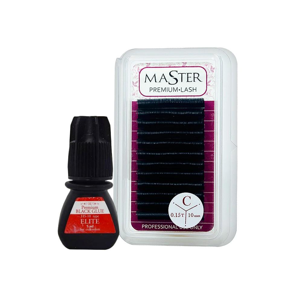 Cola Elite 5ml + Fios Master Premium Lash 0.15C